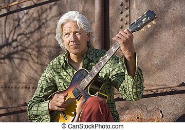 ギター プレーヤー, ハンサム