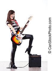 ギター プレーヤー, 女