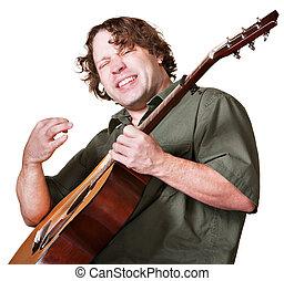 ギター プレーヤー, 興奮させられた