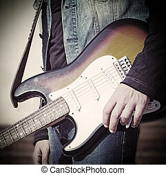 ギター プレーヤー, 調子, 型