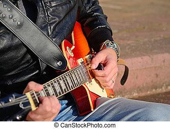ギター プレーヤー, 電気である
