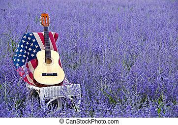 ギター, ロシアのフラグ, セージ