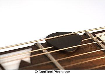 ギター, 一突き