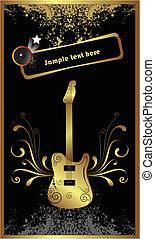 ギター, 金, 基盤