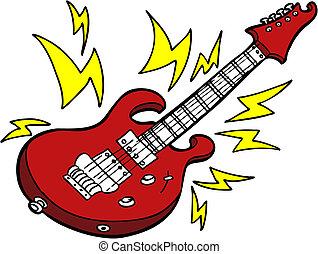 ギター, 電気である