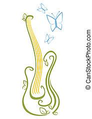 ギター, 音楽