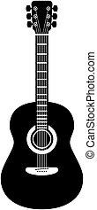 ギター, 音響, ベクトル