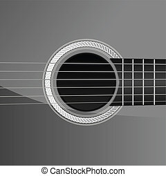 ギター, 音響, 細部