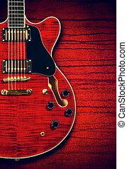 ギター, semi-hollow