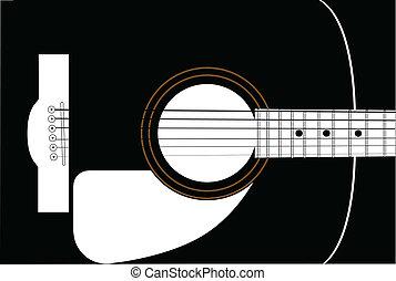 ギター, soundboard