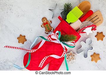 ギフトの 包むこと, クリスマス, 考え