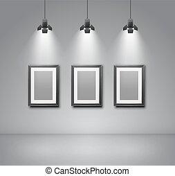 ギャラリー, 部屋