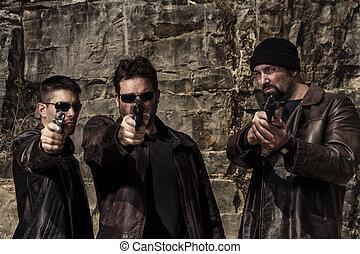 ギャングのメンバー, 銃