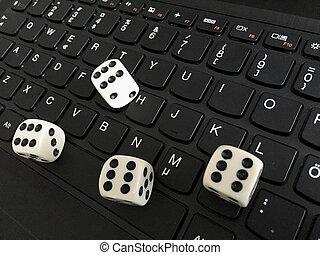 ギャンブル, オブジェクト, コンピュータ