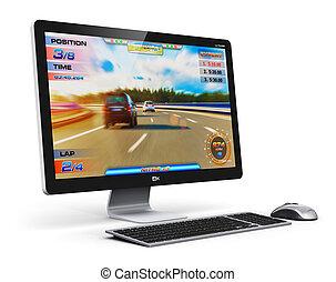 ギャンブル, コンピュータ, デスクトップ