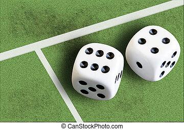ギャンブル, 勝利, フットボール, さいころ, お金