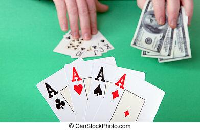 ギャンブル, 勝利, 失いなさい