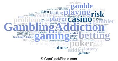 ギャンブル, addiction.