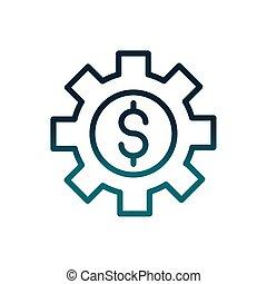 ギヤ, お金, 経済, 通貨, 線, ビジネス, 勾配