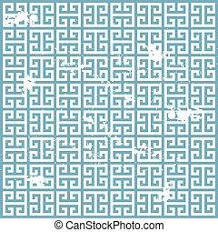 ギリシャ語, グランジ, パターン