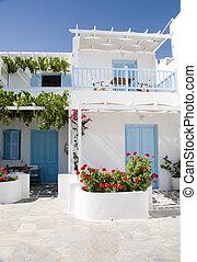 ギリシャ語, ホテル, 島