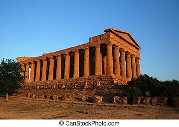 ギリシャ語, 古代, 寺院