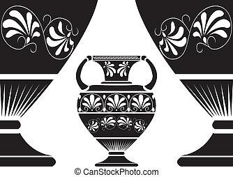 ギリシャ語, 古代, amphora