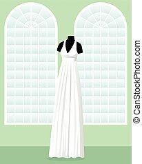 ギリシャ語, 大広間, 服, マネキン, 結婚式