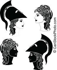 ギリシャ語, 女, プロフィール