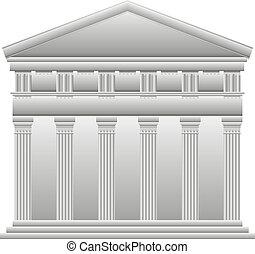 ギリシャ語, 寺院, doric