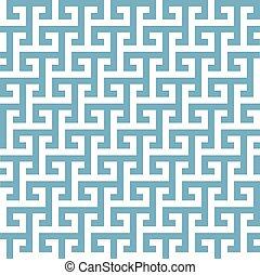 ギリシャ語, 幾何学的, パターン