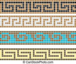 ギリシャ語, 装飾