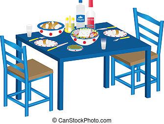 ギリシャ語, 食事
