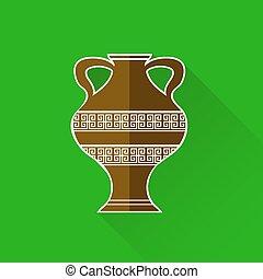 ギリシャ語, amphora, アイコン