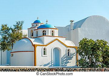 ギリシャ語, santorini, ごく小さい, 教会