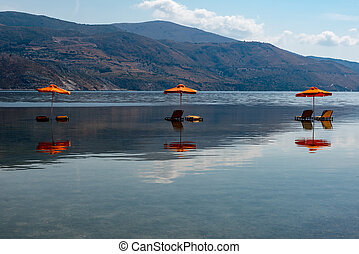 ギリシャ, 3, kefalonia, 位置, 傘