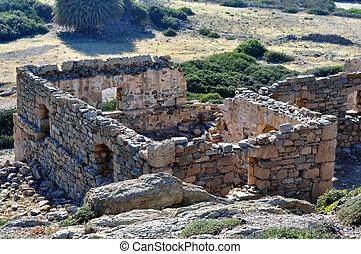 ギリシャ, crete, 古代台なし