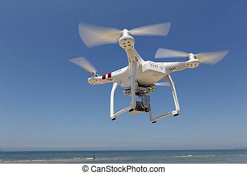 クォード, 無人機, copter, 飛行