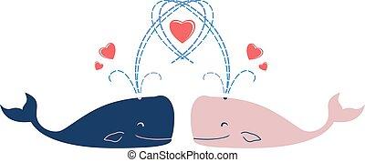 クジラ, 愛