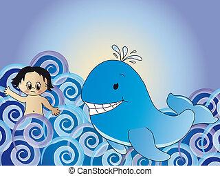 クジラ, jonah