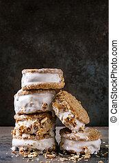 クッキー, サンドイッチ, アイスクリーム