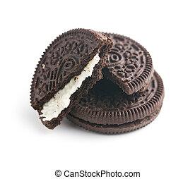 クッキー, チョコレート, クリーム