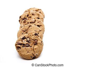 クッキー, 焼かれた