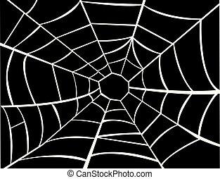 クモの巣, ベクトル, イラスト