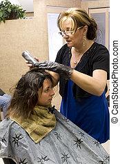 クライアント, 美容師