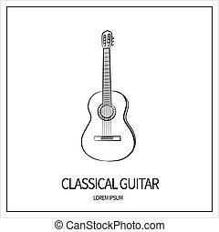 クラシックギター, アイコン