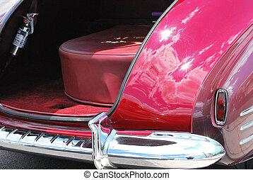 クラシック, 型, 車。