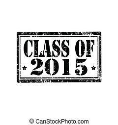 クラス, の, 2015-stamp