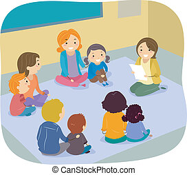 クラス, 親, 子供, 活動