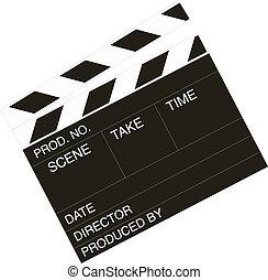 クラッパー板, 映画 ディレクター